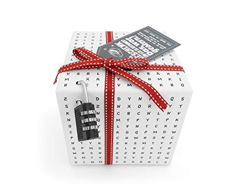 SURPRISA Worträtselbox – die kreative Geschenk-Verpackung für alle Knobelfreunde – perfekt...