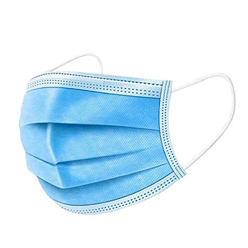 50Pcs Disposable Filter Mask 3 Ply Earloop Breathability Comfort Breathable Beauty Medical Dust Mask
