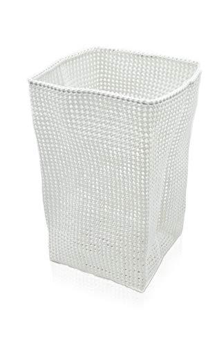 Möve 40241002 Tube Großer Korb 33 x 33 x 51 cm aus formbarem Kunststoff, Off White