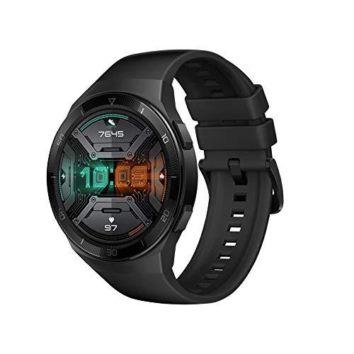 HUAWEI Watch GT 2e Bluetooth SmartWatch, GPS de esporte 14 Dias de trabalho Rastreador de Fitness, Rastreador de frequência cardíaca, Monitor de oxigênio no sangue, À prova d'água para Android e iOS, 46mm Preto
