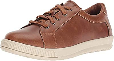 Take his casual look up a notch with the Deer Stags® Kane lace-up sneaker. Faux-leather upper with stitch accents. Traditional lace-up closure. Soft textile lining. Lightly padded footbed. Durable rubber outsole. Imported. Measurements:       Weight:...
