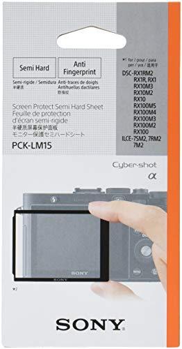 SONY 液晶保護フィルム モニター保護セミハードシート Cyber-shot RX1/RX100 PCK-LM15