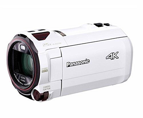 パナソニック 4K ビデオカメラ VX990M 64GB あとから補正 ホワイト HC-VX990M-W