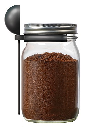 Jarware Coffee Spoon Clip for Wide Mouth Mason Jars, 6'