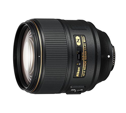 Nikon AF-S FX NIKKOR 105mm f/1.4E ED Lens with Auto Focus for...