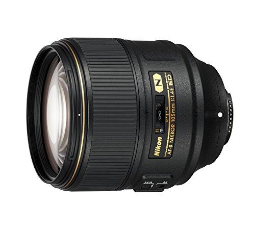 Nikon AF-S FX NIKKOR 105mm f/1.4E ED Lens with Auto Focus for...