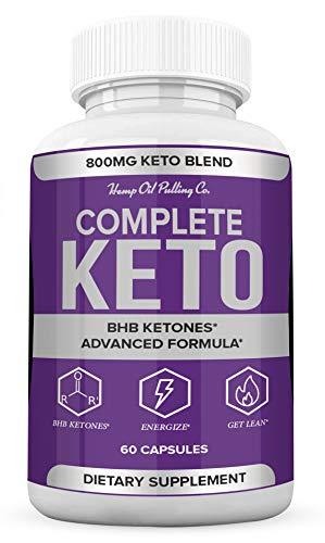 (2 Pack) Complete Keto Pills 800mg, Keto Complete Diet Pills Capsules BHB Supplement, Complete Ketogenic Diet for Beginners, BHB Ketones Slim Pills for Energy, Focus - Exogenous Ketones for Men Women 3