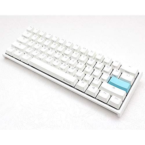 Ducky One 2 Mini Pure White RGB 60% version 銀軸