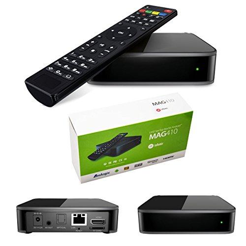 MAG 410Android - Decodificador multimedia IPTV H.265, con...