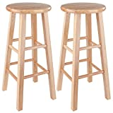Winsome Pacey Stool, 29', Natural
