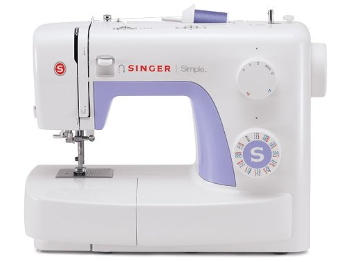 SINGER   Simple 3232 Sewing Machine with Built-In Needle Threader, & 110 Stitch Applications- Perfect for Beginners - Sewing Made Easy