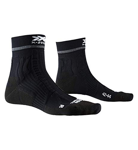 X-Socks Trail Run Energy, Calzini da Corsa Unisex-Adulto, Opal Black, 42-44