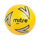 Mitre Impel Ballon de Football Mixte Adulte, Jaune/Argent/Noir, Taille 3