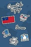 Carnet de Voyage Samoa: Journal de Voyage   106 pages, 15,24 cm x 22,86 cm...