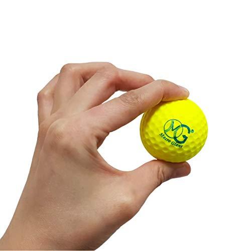 Product Image 3: Macro Giant 1.7 Inch Foam Golf Ball, Set of 32, 8 Colors, Indoor Outdoor, Beginner, Training Practice
