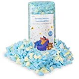 Webetop Bean Bag Filler Shredded Memory Foam Filling Multi-Color 5lbs for Bean Bags, Chairs, Pet Dog Beds, Cushions and Crafts