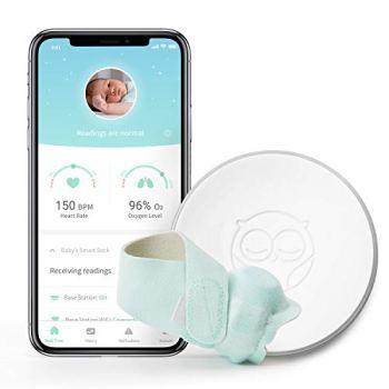 Owlet Smart Sock 2 Baby Monitor, Green