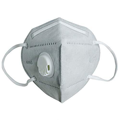 Muschio No-FFP3 Kn95 con valvola di respirazione anti-appannamento Anti inquinanti Tazza anti-polvere Muschio viso