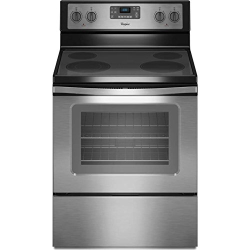 Whirlpool WFE515S0ES 5.3 Cu. ft. Capacity Electric Range...