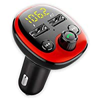 Transform Your Car Music System: - This Car Bluetooth device connects to your Car Stereo wirelessly via FM and to your Smartphone via Bluetooth so you can Stream Music, Get Turn by Turn Audio Navigation Assistance, Make & Receive Calls & much more on...