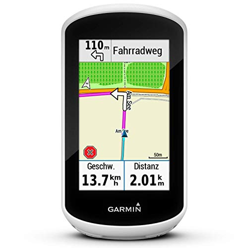 Garmin Edge Explore Navigatore da Bici, Bianco/Nero