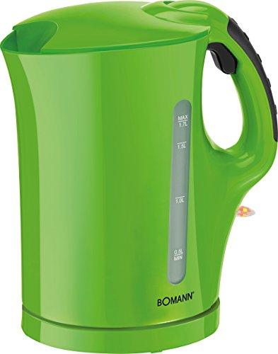 Bomann WK 5011 CB Wasserkocher 1,7 L 2200 W grün