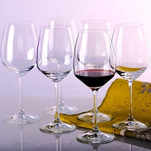 MKSA Crystal Goblets White Wine Glasses,...