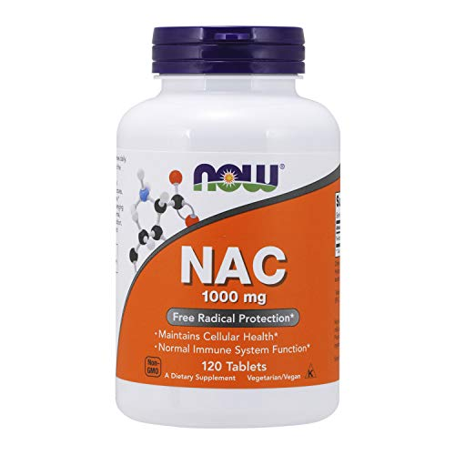 NOW Foods Supplements, NAC (N-Acetyl-Cysteine) 1,000 Mg,...