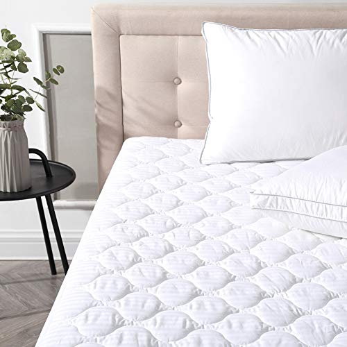 Thasaba Classic Brands Defend-A-Bed Deluxe Quilted Waterproof Mattress Protector, Queen Size