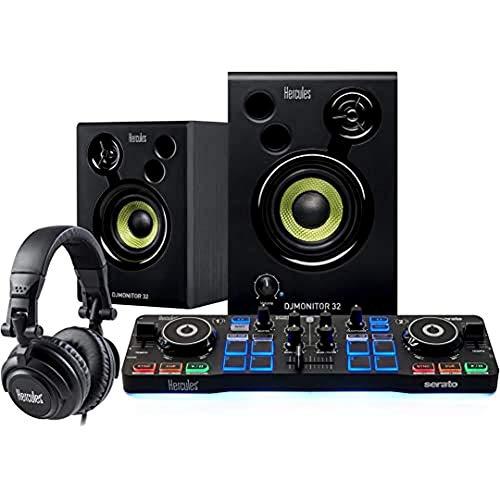 Hercules DJStarter Kit: il kit completo per iniziare a mixare come un DJ con Serato DJ Lite.