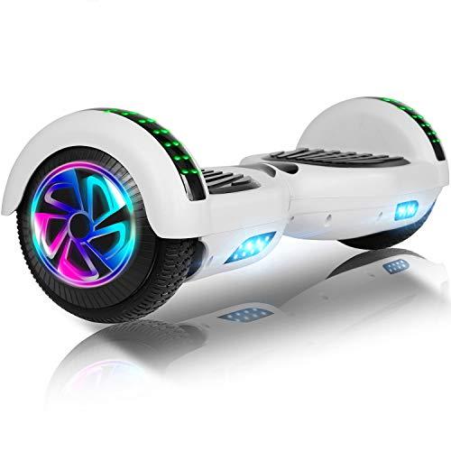 jolege Hoverboard 6.5'Due Ruote Elettrico Smart Self Balance Board con LED Wheel Hoverboard Bambini...