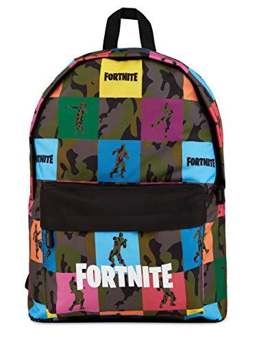 Fortnite Mochilas Escolares Juveniles Para Niños, Bolsa Con Diseño De Camuflaje Para Colegio Viajes Actividades Deporte, Merchandising Oficial Regalos Fortnite Para Niños Adolescentes
