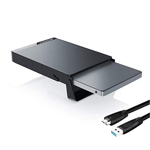 GeekerChip Case Esterno per Disco Rigido 2.5'(2020 Nuovo),Enclosure Hard Disk Esterno Box Caso SATA...