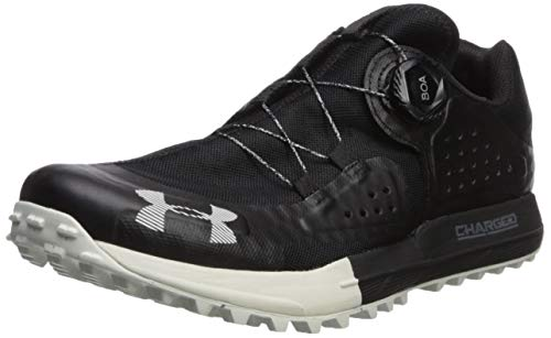 Under Armour Men's Syncline Hiking Shoe, Black (001)/Pitch Gray, 10.5