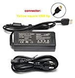65W 20V 3.25A AC Adapter Charger Replacement for Lenovo Thinkpad E570 E560 E550 E531 L460 L440 L470 T540P T440 T470S T450 X240 X250 X270, ADLX65NLC2A ADLX65NCC2A ADLX65NCC3A Laptop Power Supply Cord