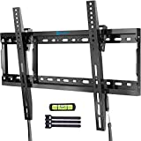 Tilt TV Wall Mount Bracket Low Profile for Most 37-70 Inch LED LCD OLED Plasma Flat Curved Screen...