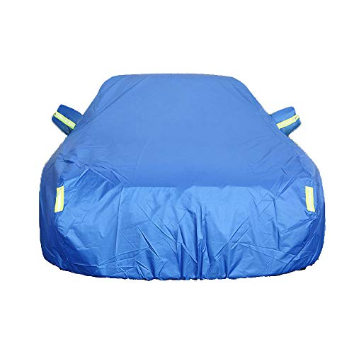 LIUFS Car Cover Compatible with Bentley Bentayga Hybrid (2018-2020) Waterproof Insulation Automobiles Covers, All Weather Dustproof Rainproof Thicken Heavy Duty Cover Oxford Tarpaulin
