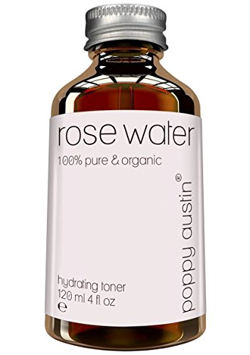 Agua de Rosa Pura Tónico Facial - Vegano, Cruelty-Free, Tónico Para la Piel Orgánico -...