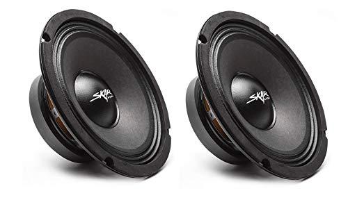 (2) Skar Audio FSX8-8 350-Watt 8-Inch 8 Ohm MID-Range Loudspeakers - 2 Speakers