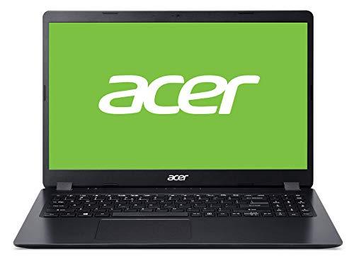 """Acer Aspire 3 - Ordenador portátil de 15.6"""" FullHD (Intel Core i5-6300U, 8GB RAM, 512GB SSD, UMA, Windows 10 Home) Negro - Teclado QWERTY Español"""