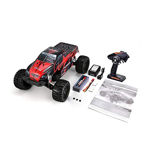 ZD Racing 9106-S 1/10 70KM/h Thunder 4WD Brushless Racing RC Car Bigfoot Buggy Truck RTR Toys Remote Control Vehicle