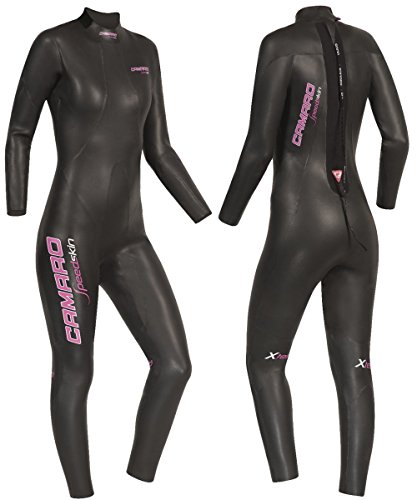 Camaro Damen Speedskin Overall Triathlon Neoprenanzug M Schwarz