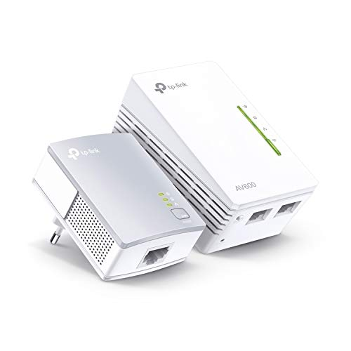TP-Link TL-WPA4220 Kit Powerline WiFi, AV600 Mbps...
