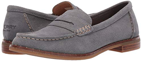 Sperry Women's Seaport Penny Stud Suede Loafer