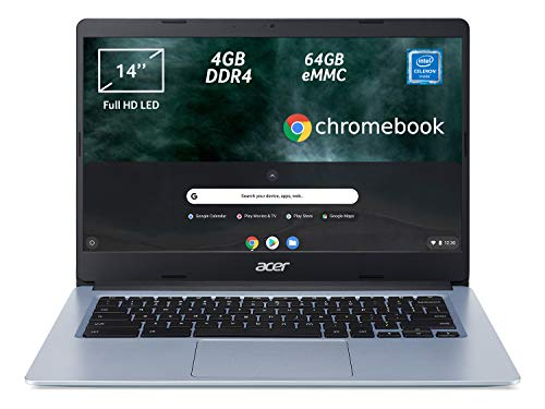 Acer Chromebook 314 CB314-1H-C2W1 Notebook, Pc...