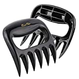 Meat Shredder Claws - BBQ Claws Pulled Meat Handler Fork Paws Easy Machine Wash and for Shredding All Meats Accessories Kitchen Gift Tools Paws
