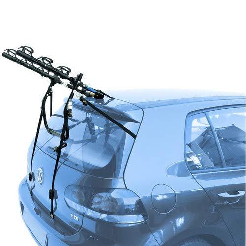 EMMEA PORTABICI Posteriore Auto 3 Bici Regolazione Cinghie Biciclette Compatibile con KIA Rio 5P...