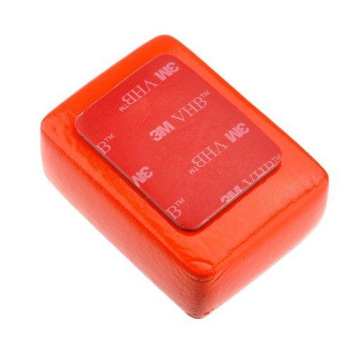 Goliton CAM.P05.MPX.120.XXR - Spugna di galleggiante Floaty con 3M Anti Sink Adesivo per GoPro Hero 1/2/3/3 + / 4/5/4, Rosso