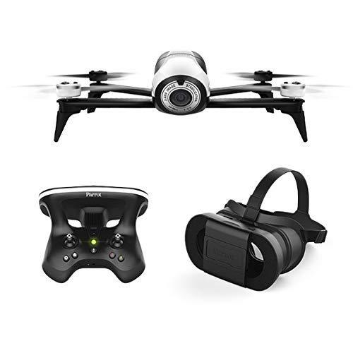 Parrot Bebop 2 FPV Ensemble de drone avec lunettes Skycontroller et FPV blanc