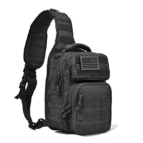 Tactical Sling Bag Pack Military Shoulder Sling Backpack...